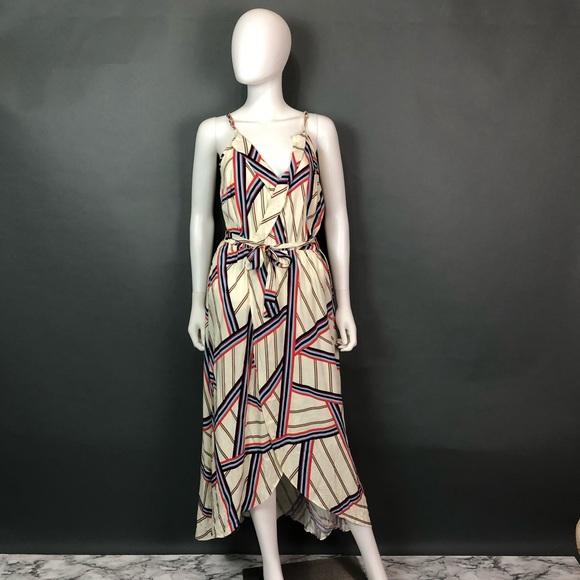 806ed4239a Q a stitch fix high low maxi dress